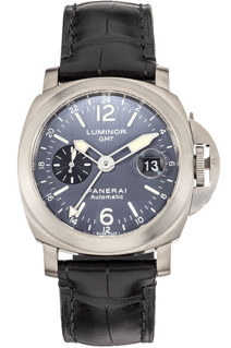Panerai GMT Luminor Anthracite Dial Titanium